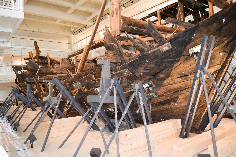 Schiffahrtsmuseum Schiff