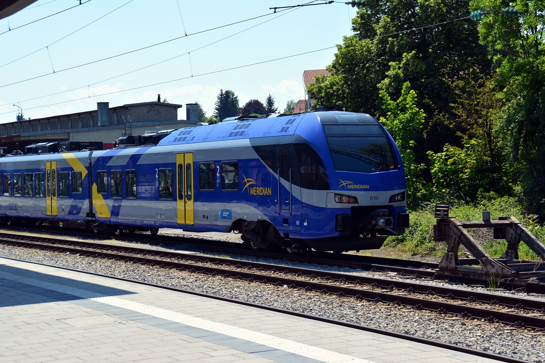 02 Eisenbahnfreunde Kraichgau Chiemsee Zug Merian