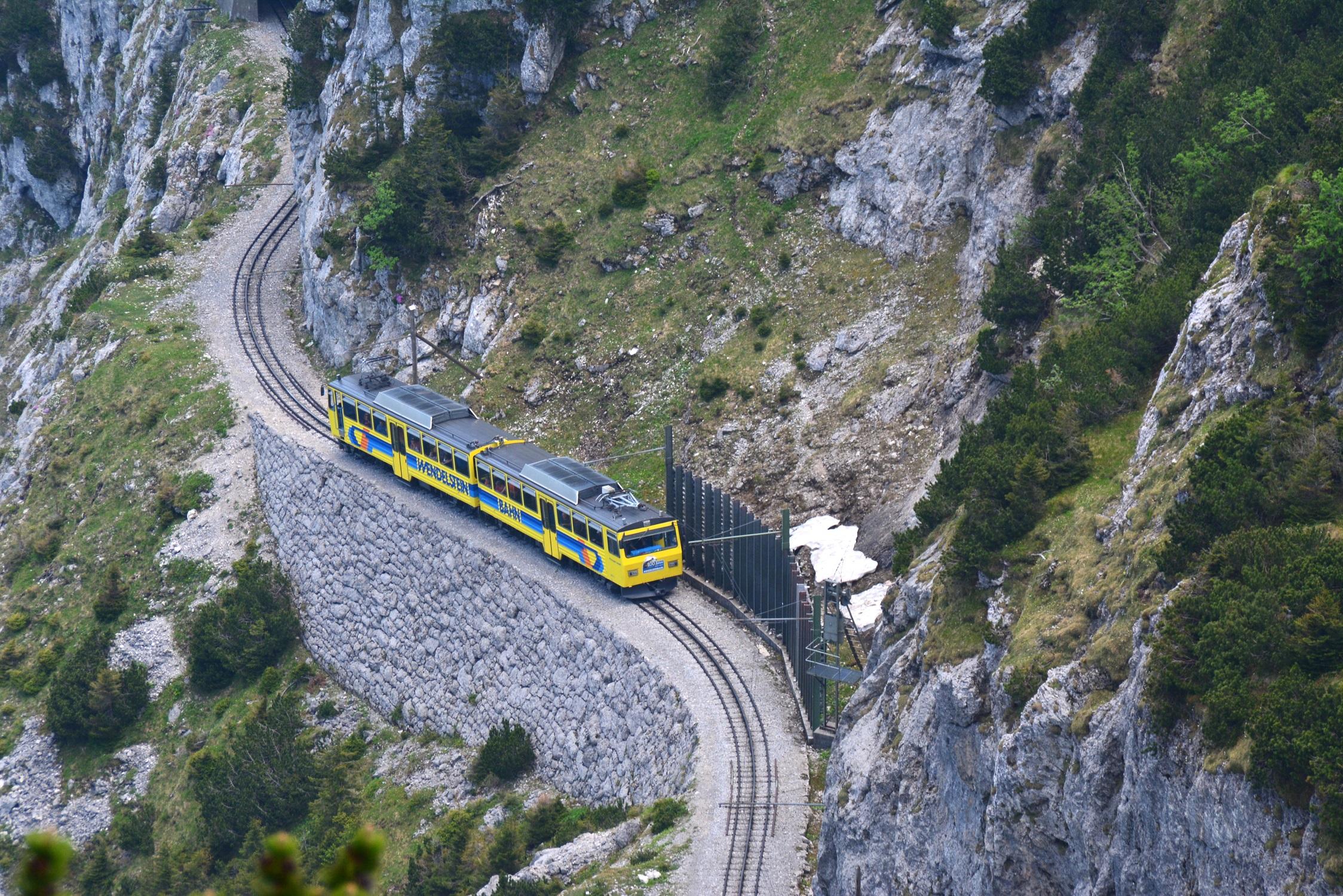 13 Eisenbahnfreunde Kraichgau Chiemsee Wendelstein-Bahn 04