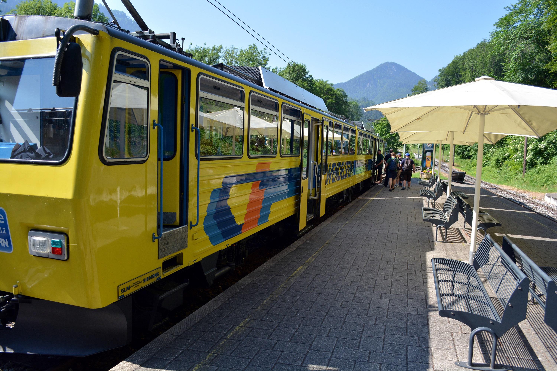 13 Eisenbahnfreunde Kraichgau Chiemsee Wendelstein-Bahn 06