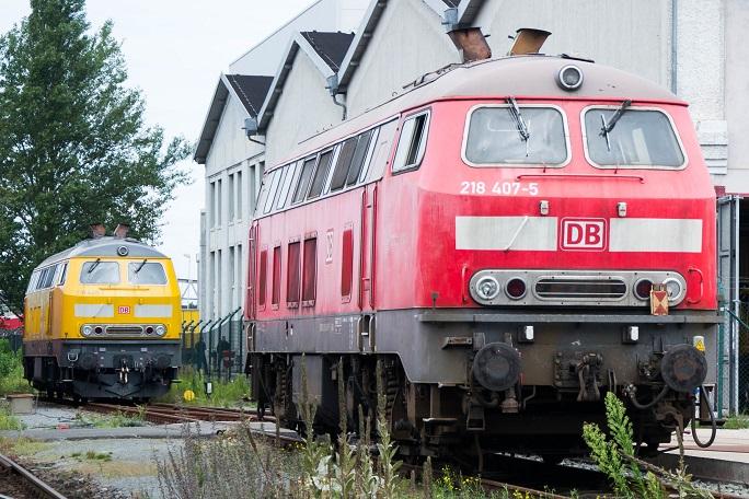 DB Fahrzeuginstandhaltung BR 218-407
