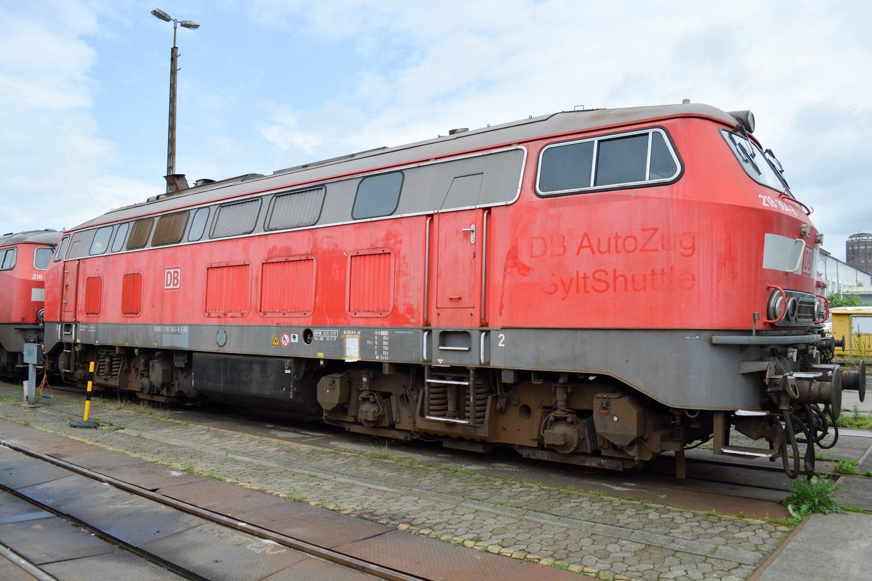 DB Fahrzeuginstandhaltung Bremen Baureihe 218-364 Sylt-Shuttle