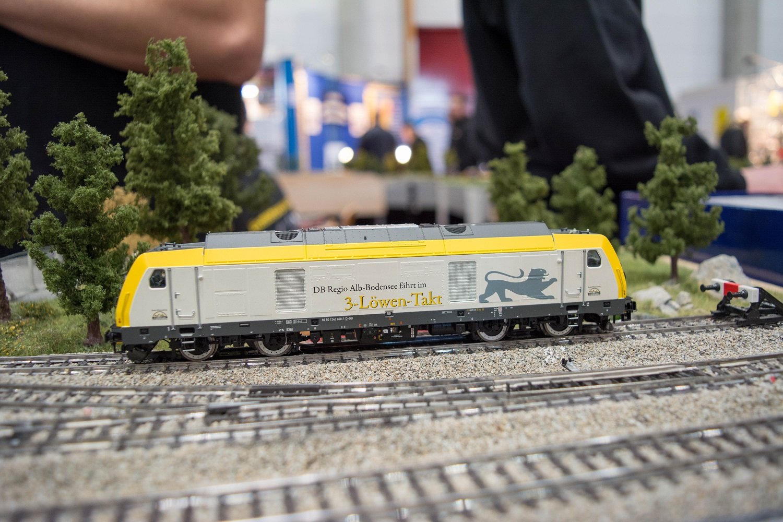 Eisenbahnfreunde Kraichgau Sinsheim ESU Baureihe 245 Diesellokomotive BW Design 4