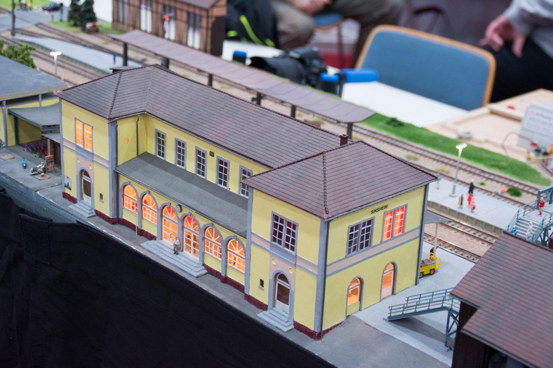 Eisenbahnfreunde Kraichgau Faszination Modellbahn Bahnhof Sinsheim 02