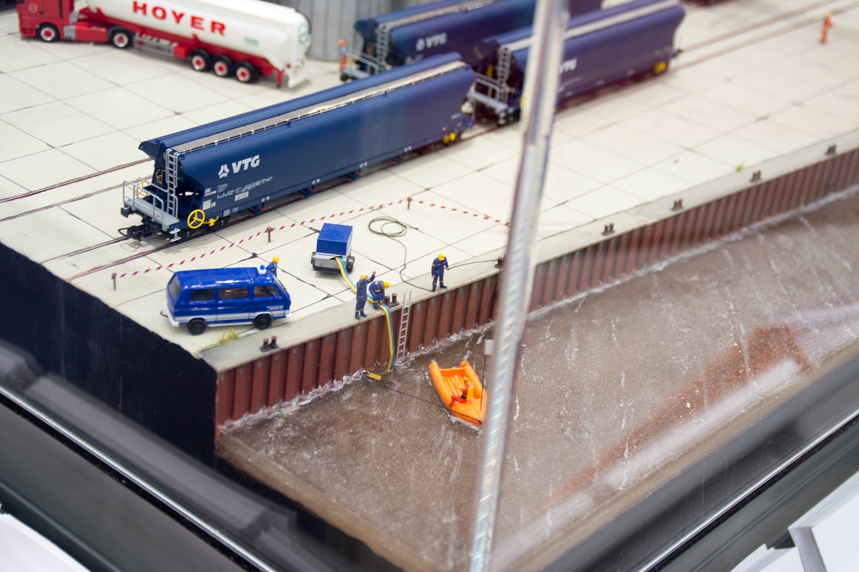 Eisenbahnfreunde Kraichgau Faszination Modellbahn THW