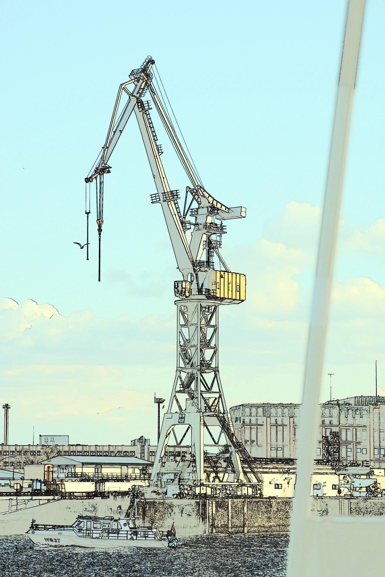20 Hamburg Hafen Kran Zeichnung 01.jpg