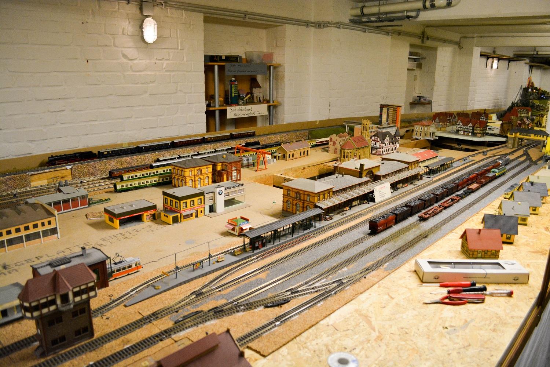 Modelleisenbahnfreunde Bremen Bahnhof