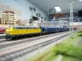 Eisenbahnfreunde Kraichgau Modellbahn VTG Güterzug