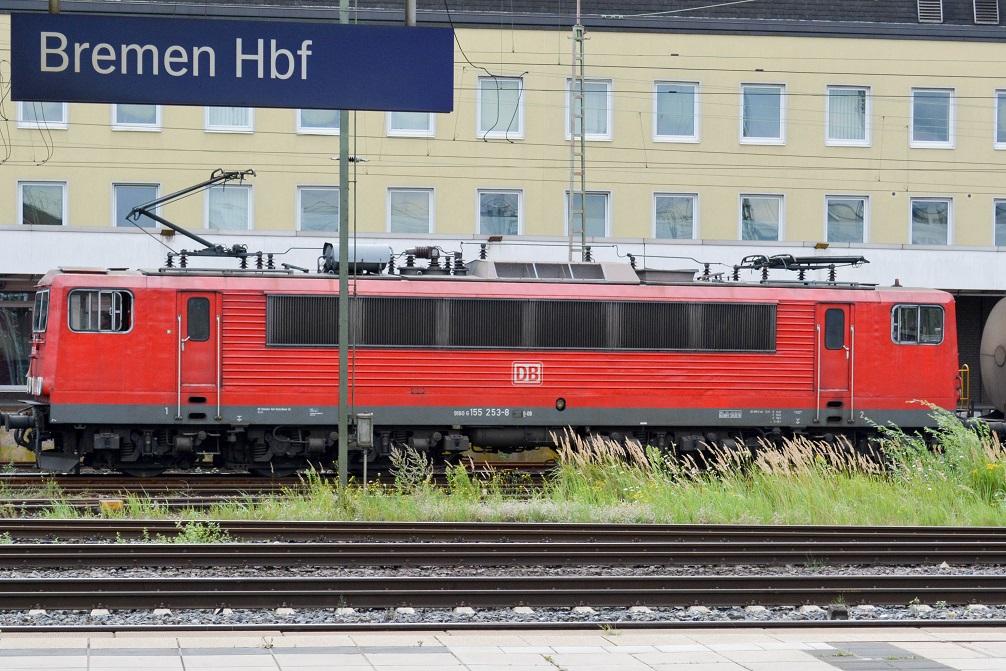 Bremen Hauptbahnhof Baureihe 155