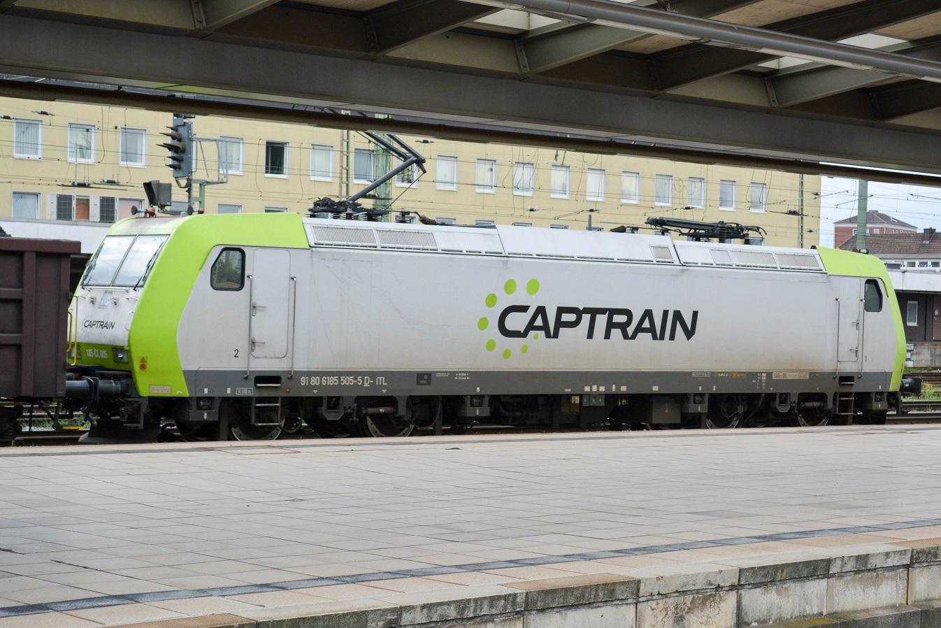 Bremen Hauptbahnhof Captrain Baureihe 185