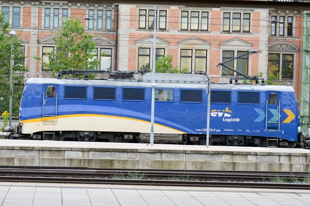 Bremen Hauptbahnhof EVB-Logistik