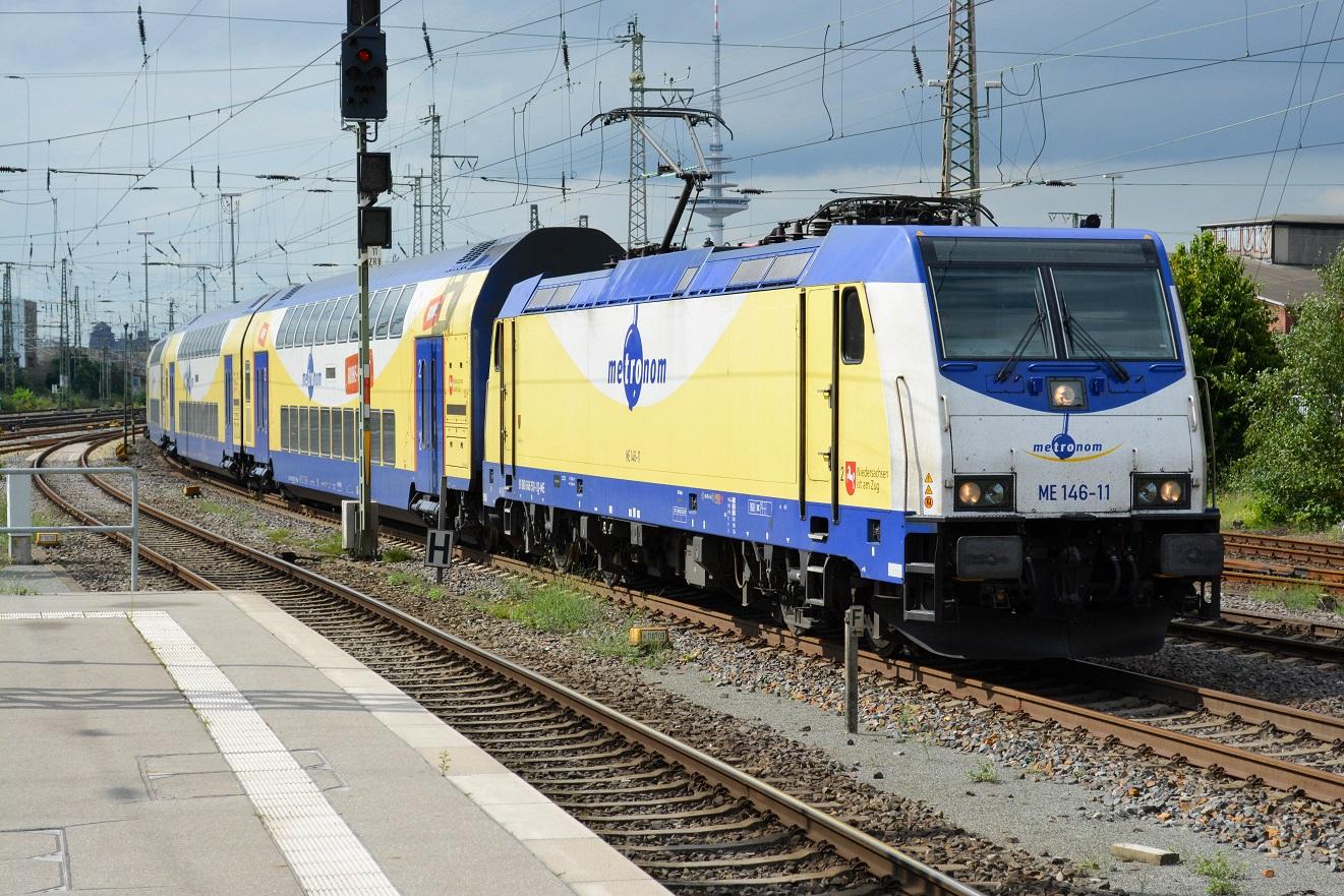 Bremen Hauptbahnhof Metronom Baureihe 146-11