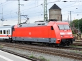 Bremen Hauptbahnhof Baureihe 101-002 Verkehrsrot